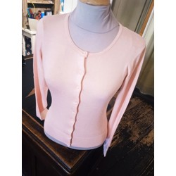 Gilet rose pale Zilch