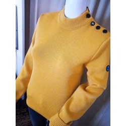 Pull marin Moutarde Royal Mer